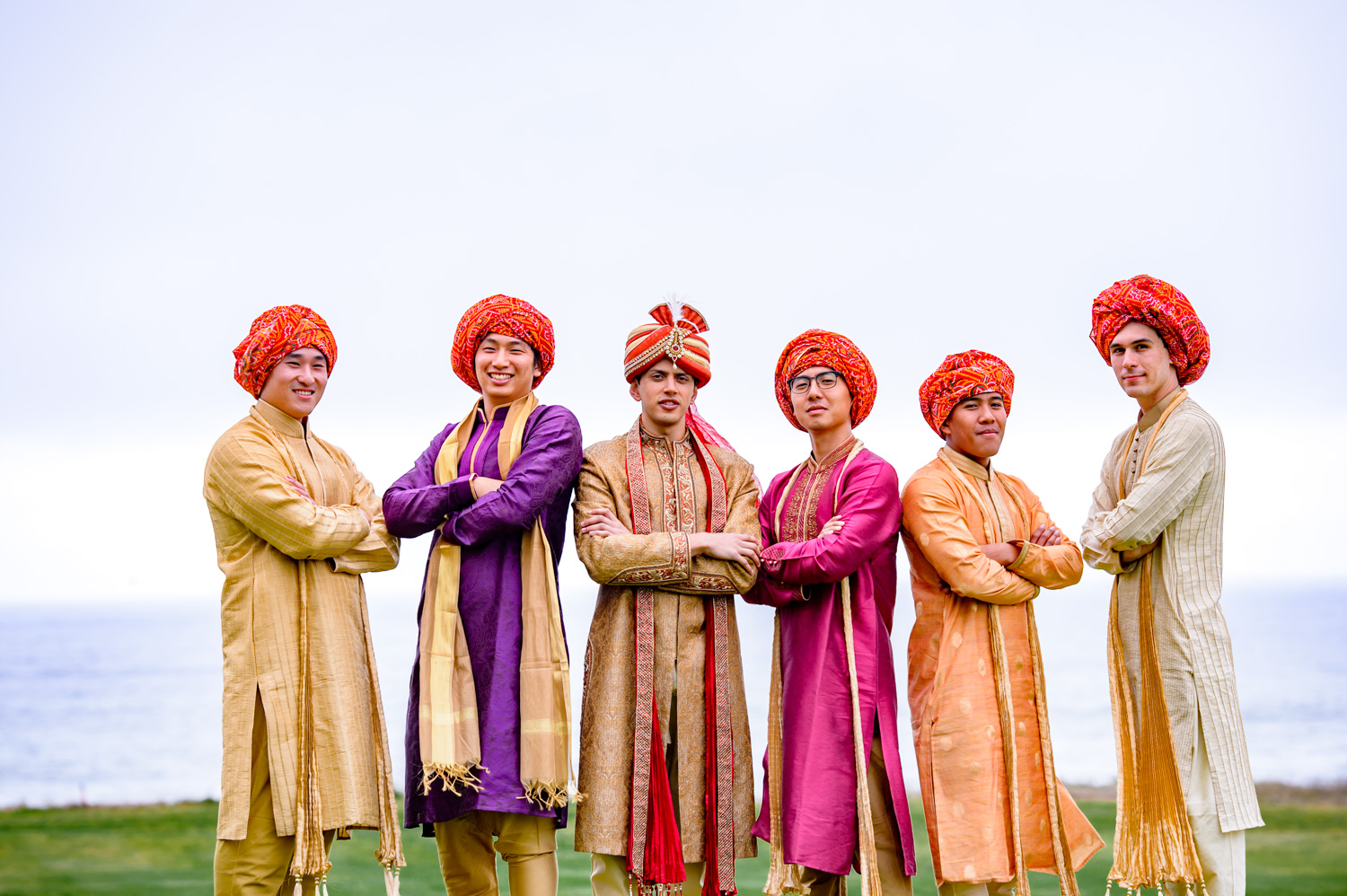 Indian Groomsmen outfits