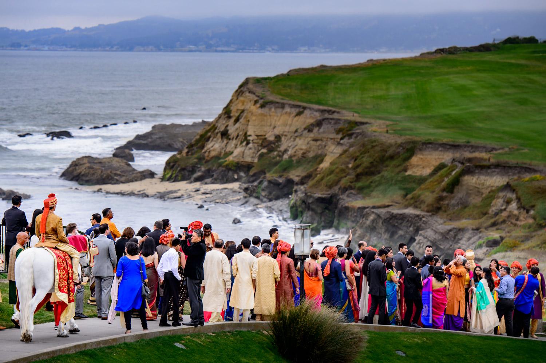 An Indian Hindu Wedding At The Ritz Carlton Half Moon Bay