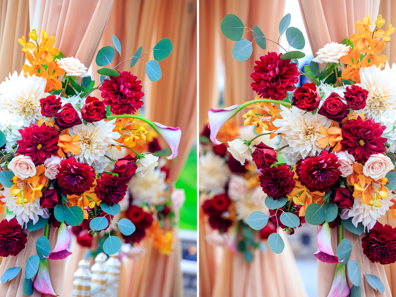 Floral decor by Floramor Studios