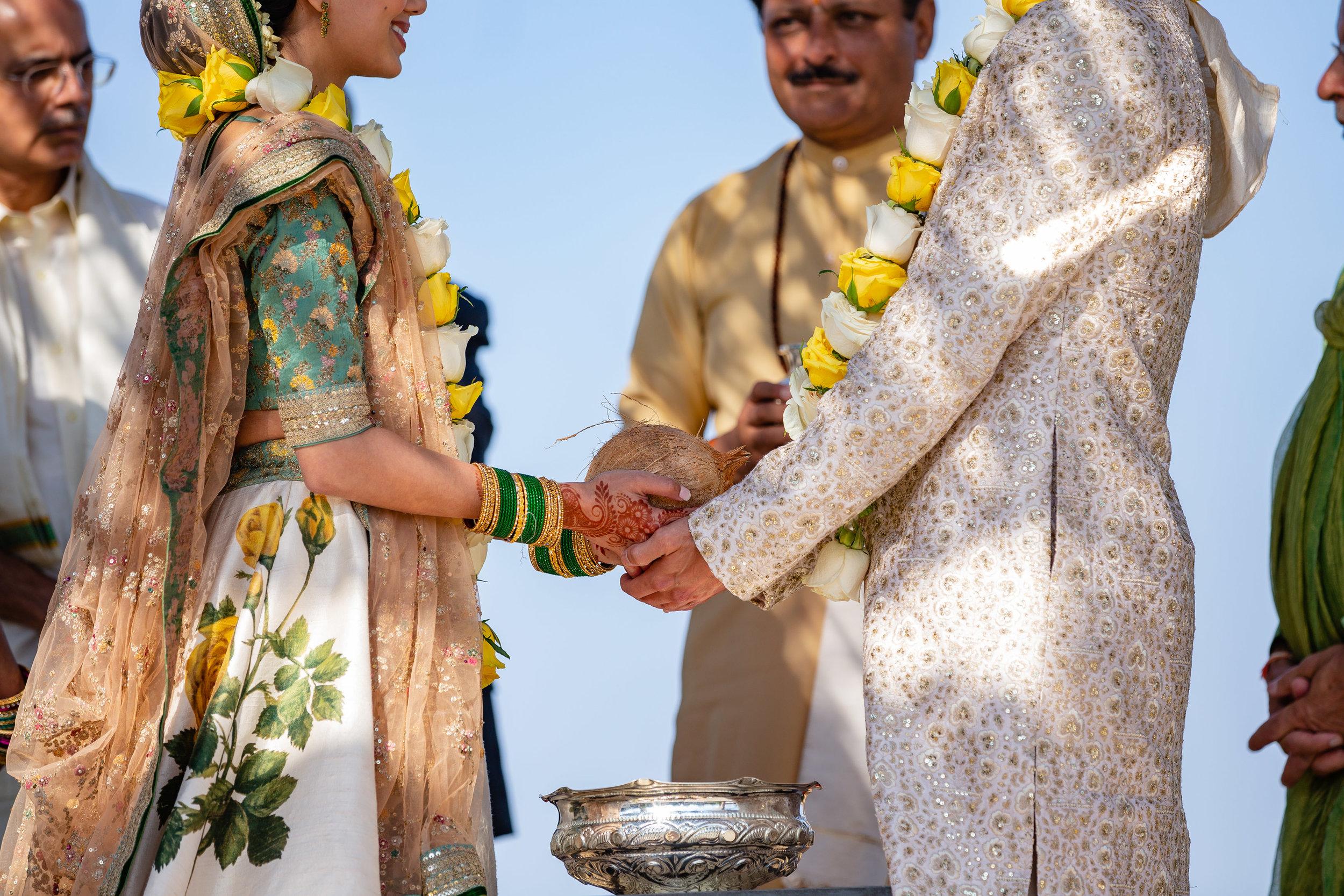Carneros Resort Napa Indian wedding