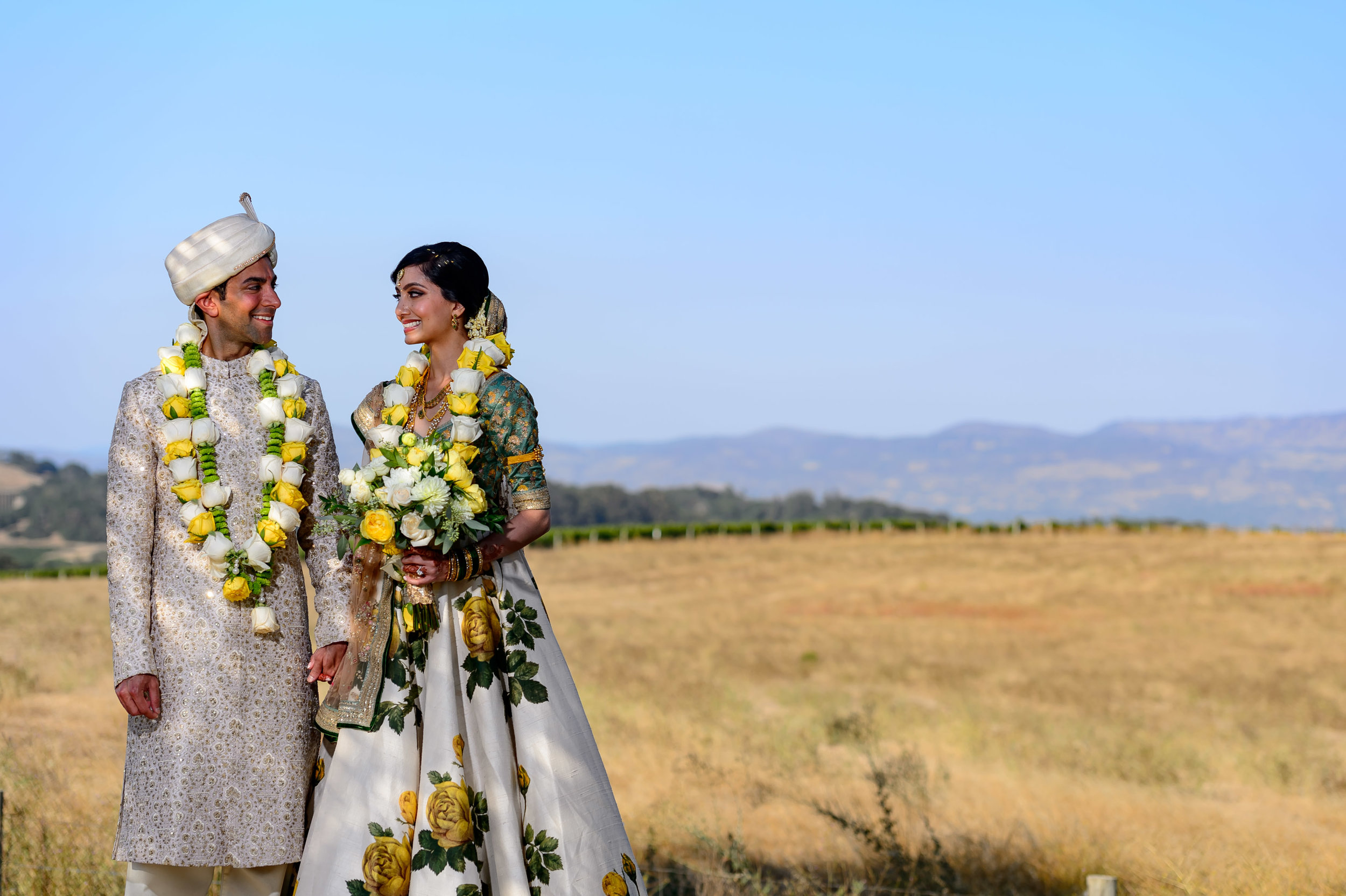 Carneros Resort Napa Indian wedding photographer