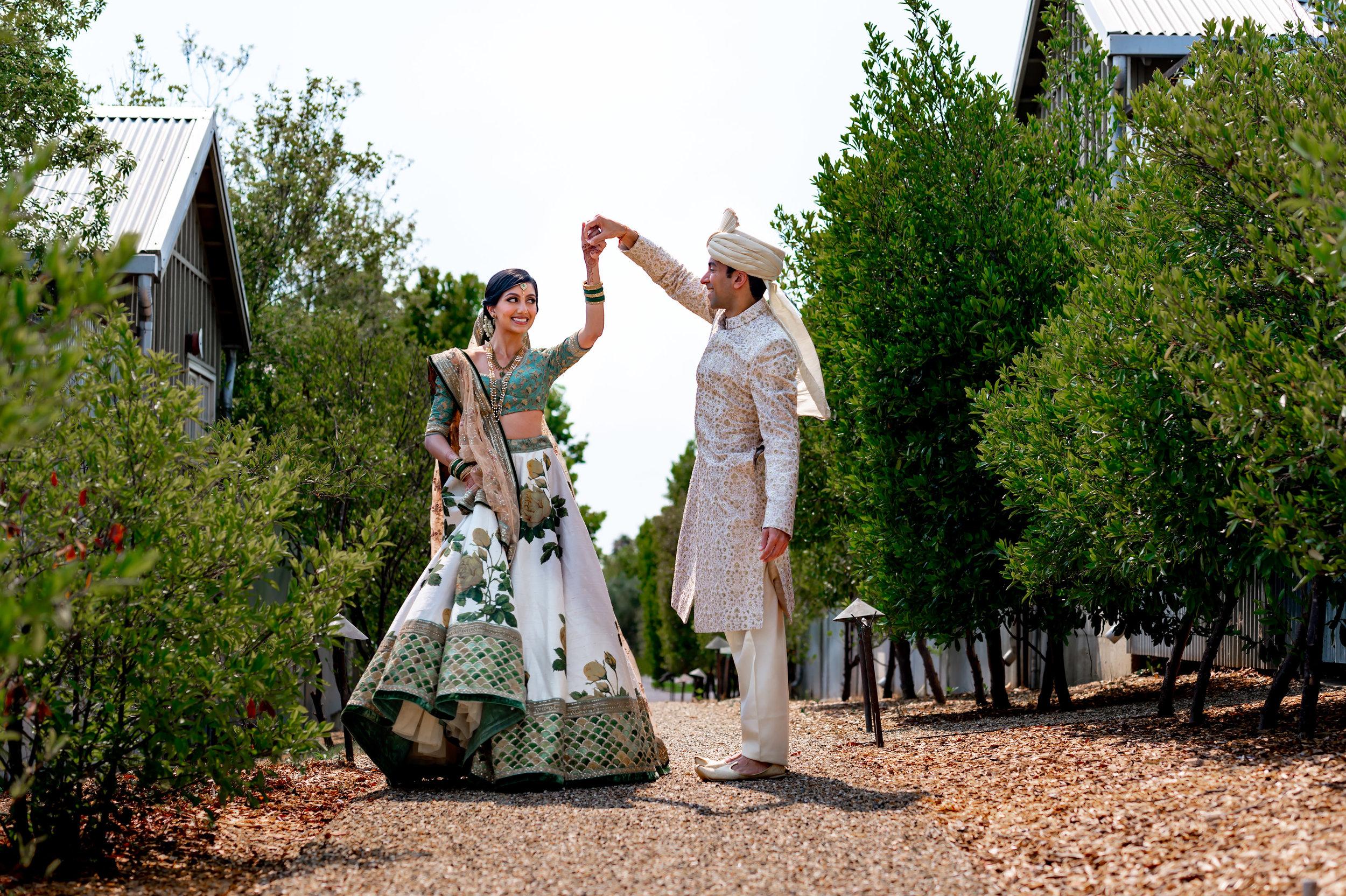 Carneros Resort Napa & Meritage Resort Napa Indian Wedding | Sheela & Rishi -