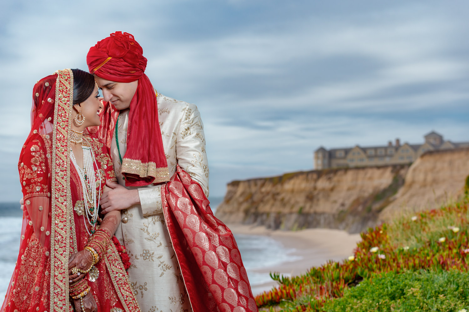 Ritz Carlton Half Moon Bay Pakistani Muslim wedding