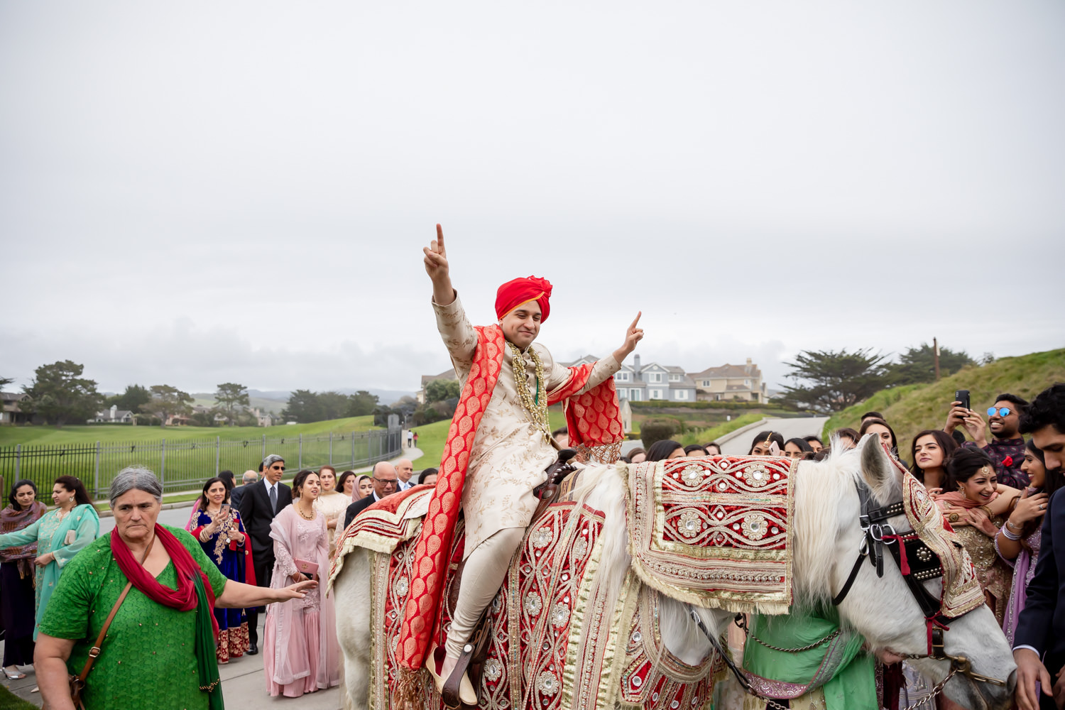 Ritz Carlton Half Moon Bay Indian wedding