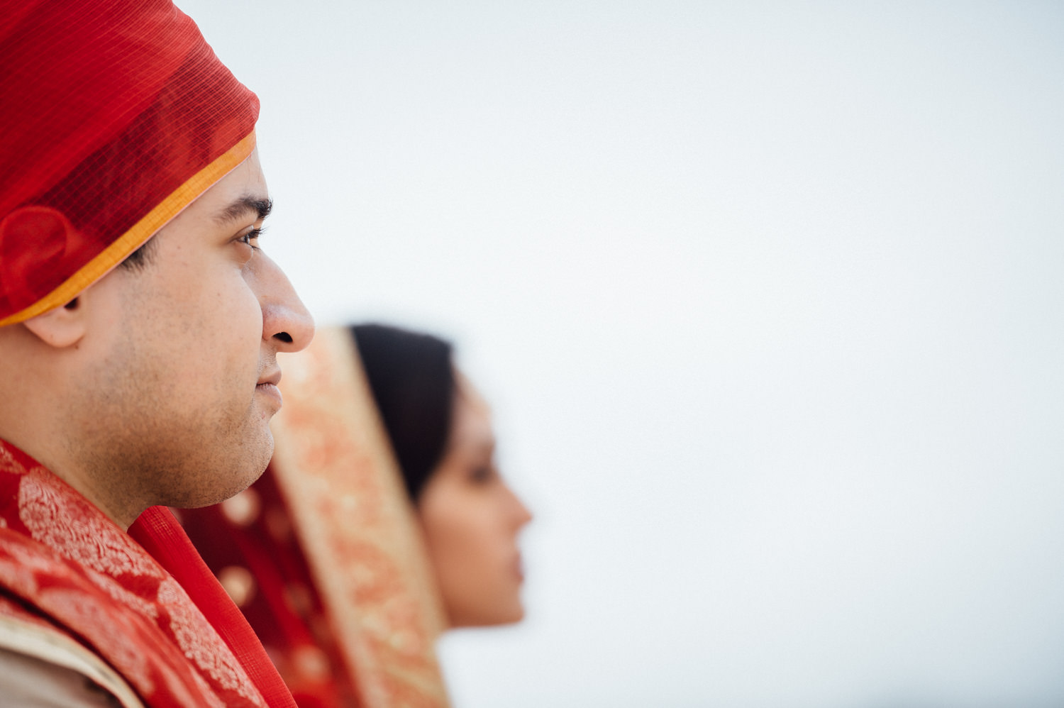 Ritz Carlton Half Moon Bay Indian wedding photographer