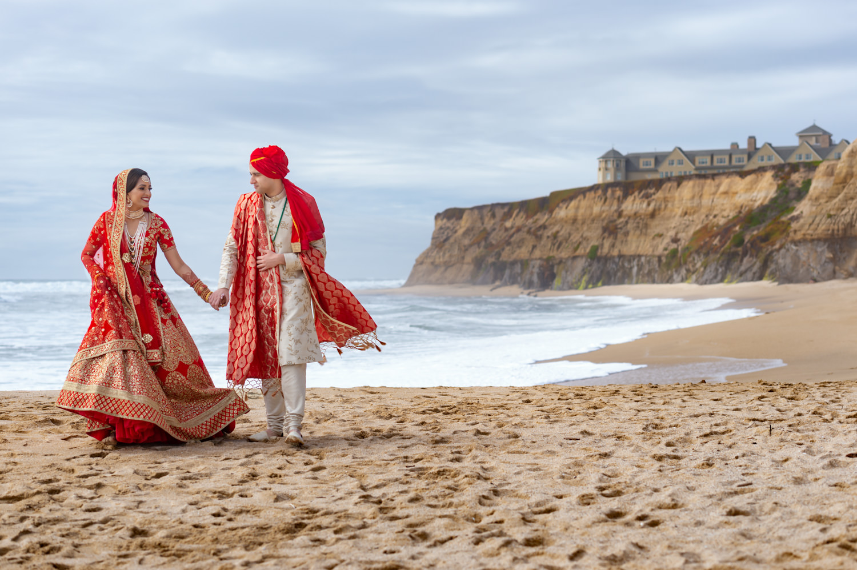 Ritz Carlton Half Moon Bay Indian Muslim Wedding | Samra & Omar -