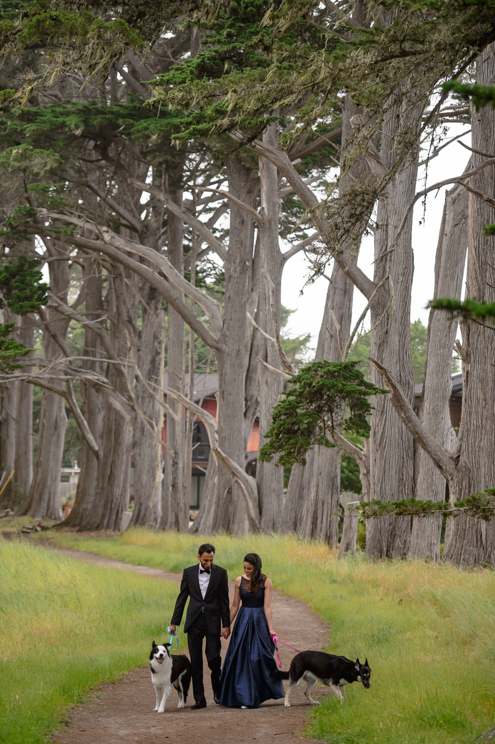 Half Moon bay engagement shoot