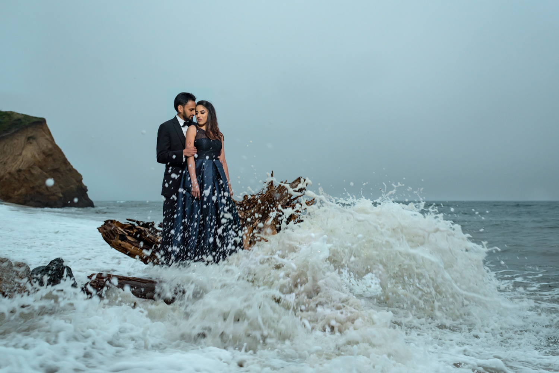 An Engagement Shoot in Half Moon Bay, California | Jenny & Gaurav -