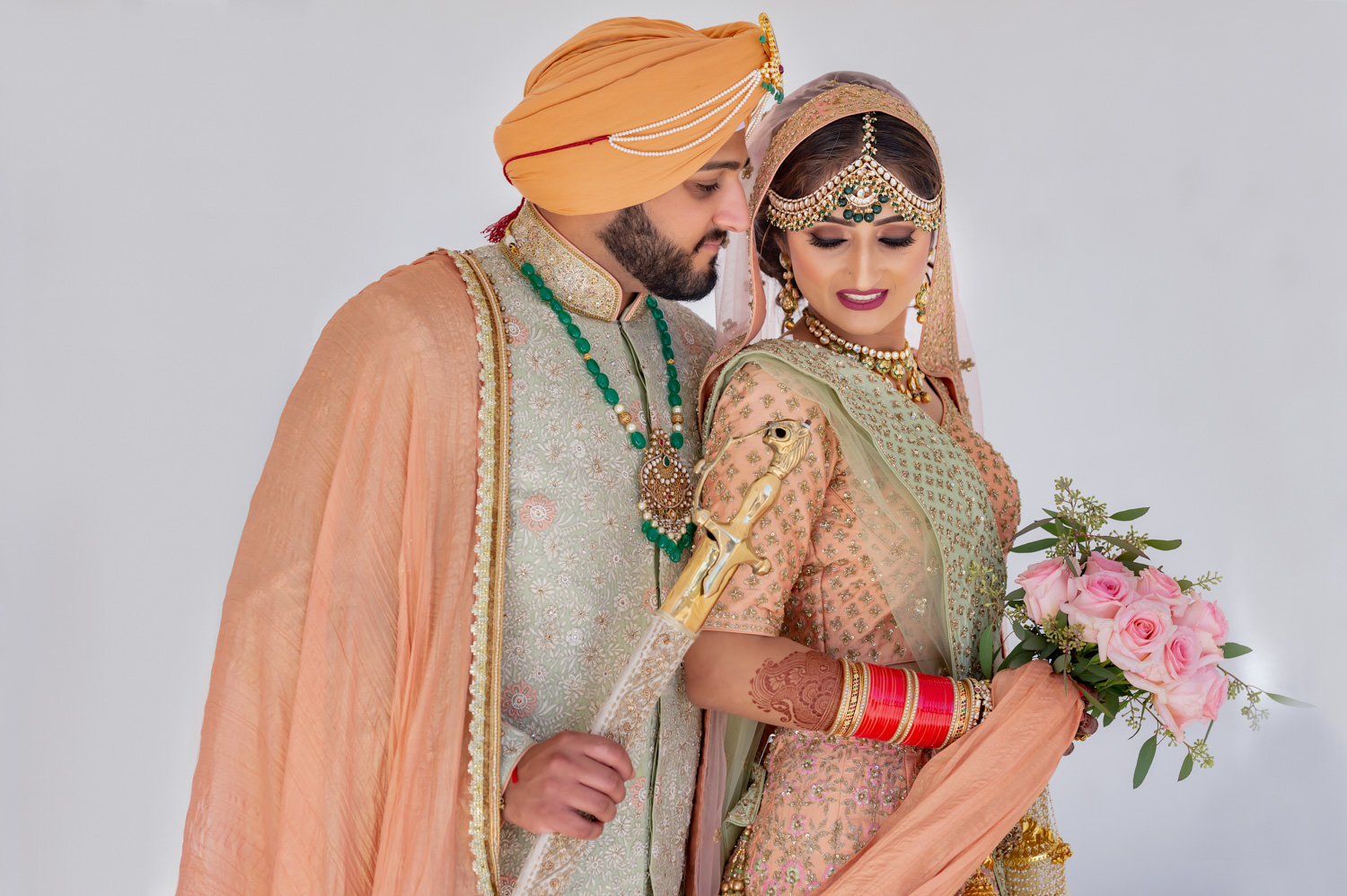 Indian Sikh wedding Modesto
