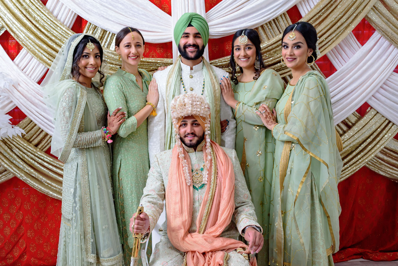 Indian Punjabi Sikh wedding Stockton