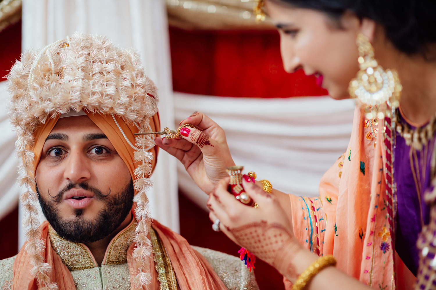 Indian Punjabi Sikh wedding Stockton
