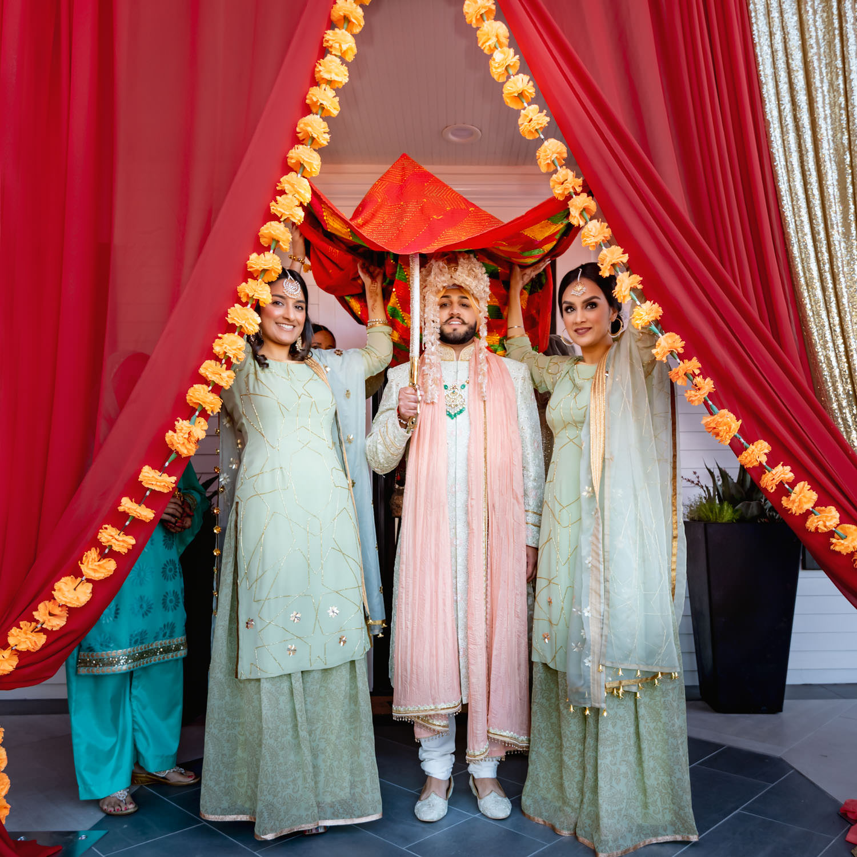 Indian Punjabi Sikh wedding bay area