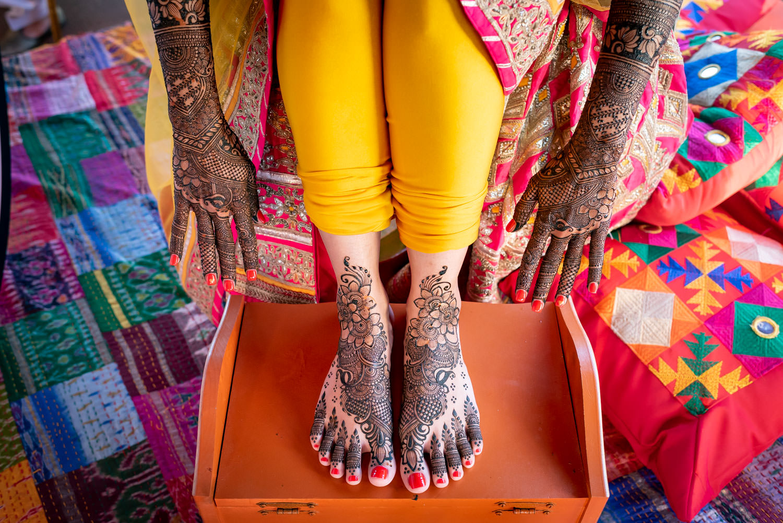 Bridal Henna Hussain Maaz