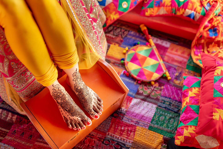 Pardeep's Bridal Mehndi (Henna) by Hussain Maaz -