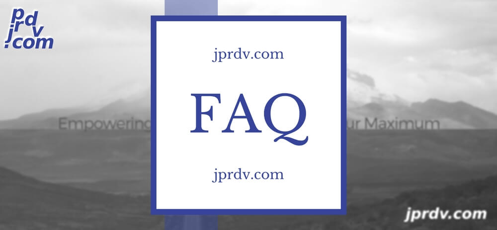 jprdv.com Web Site FAQ