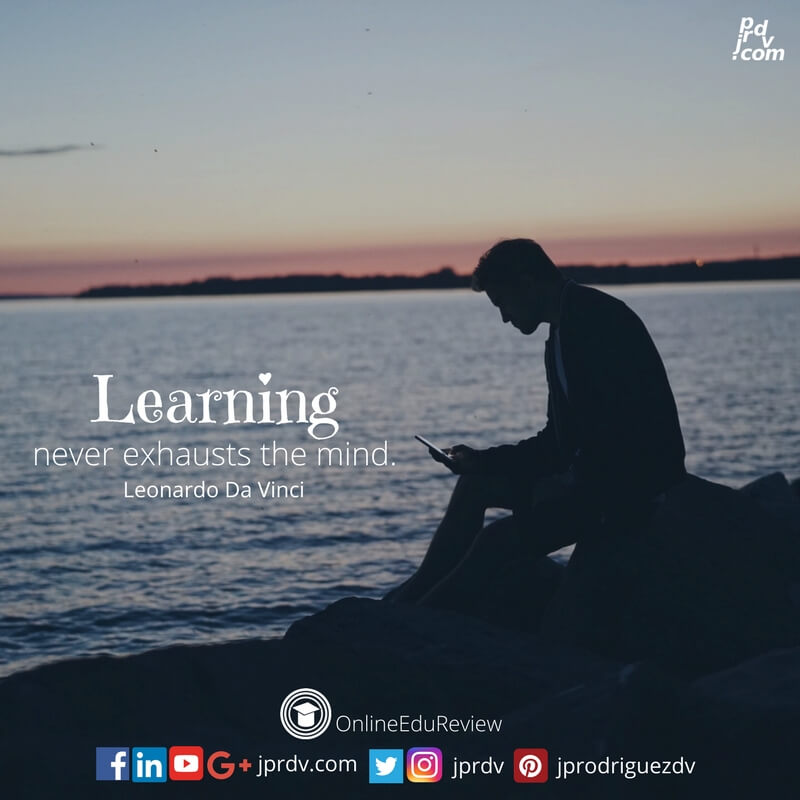 learning never exhausts the mind leonardo da vinci