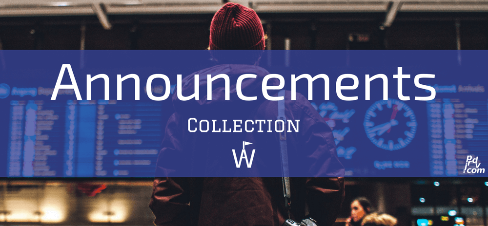 Announcements Workavel Collection