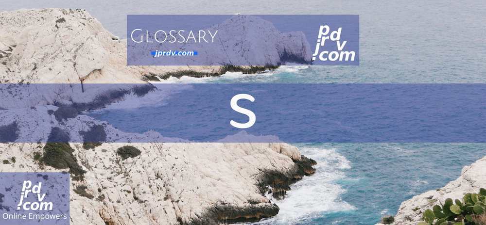 S (Site Glossary)