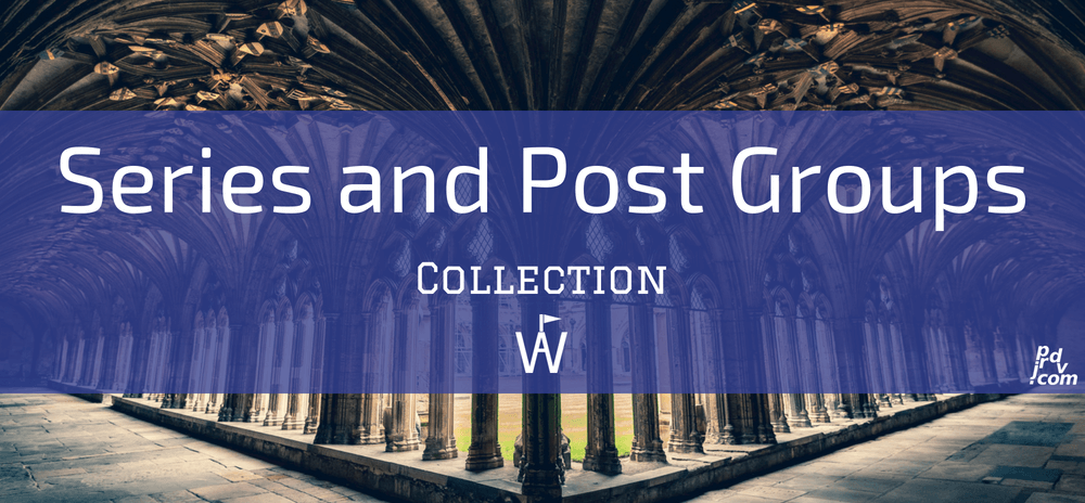 Series and Post Groups Workavel Collection