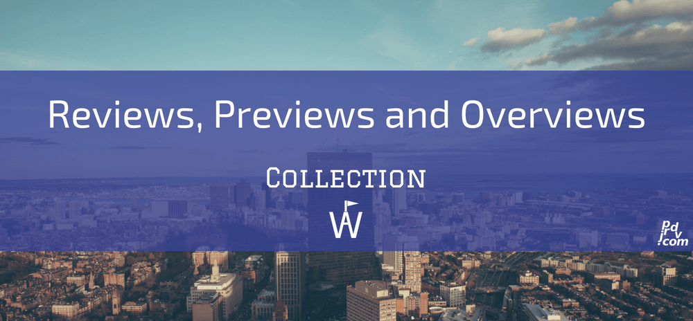 Reviews, Previews and Overviews Workavel Collection