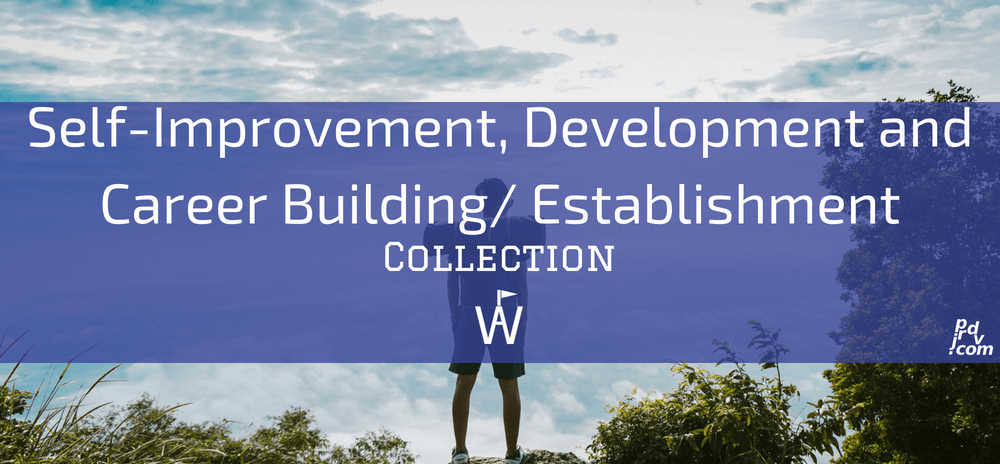 Self-Improvement, Development and Career Building _ Establishment Workavel Collection