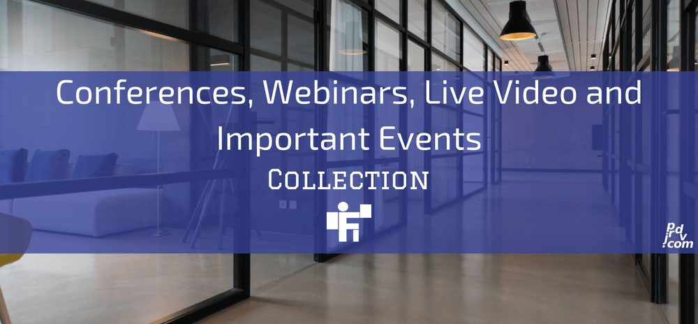 Conferences, Webinars, Live Video and Important Events Freelanstyle Collection