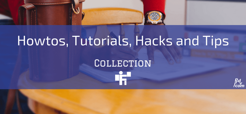 Howtos, Tutorials, Hacks and Tips Freelanstyle Collection
