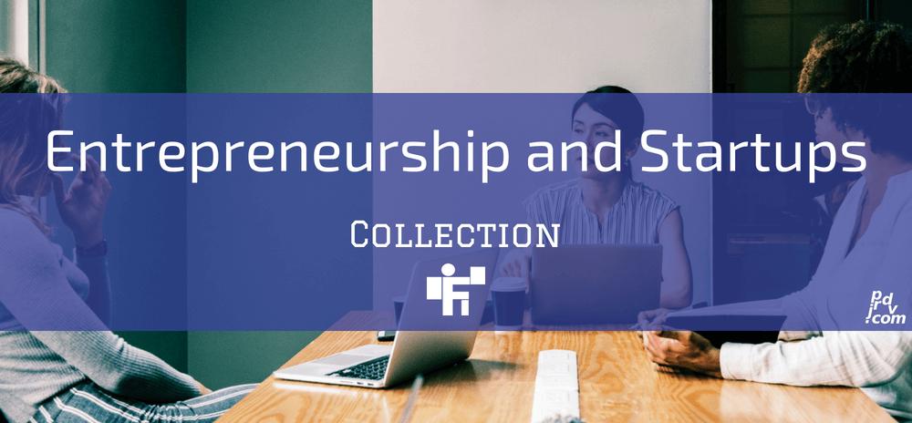 Entrepreneurship and Startups Freelanstyle Collection