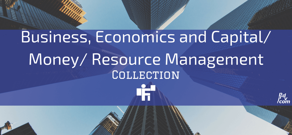 Business, Economics and Capital _ Money _ Resource Management Freelanstyle Collection