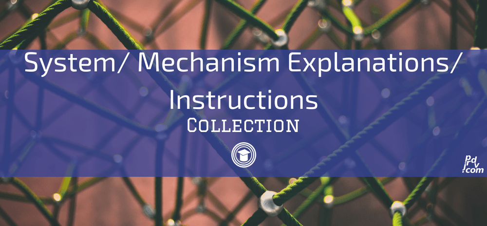 System _ Mechanism Explanations _ Instructions OnlineEduReview Collection