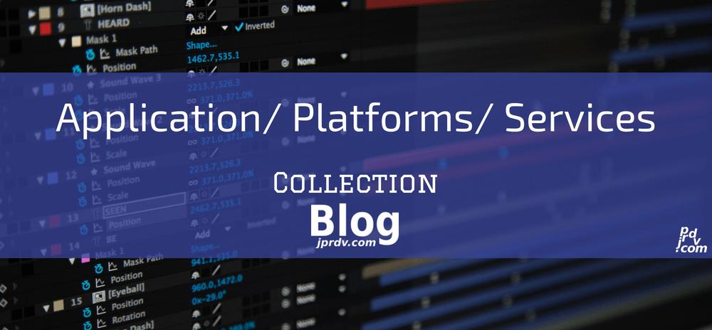 Application _ Platforms _ Services jprdv.com Blog