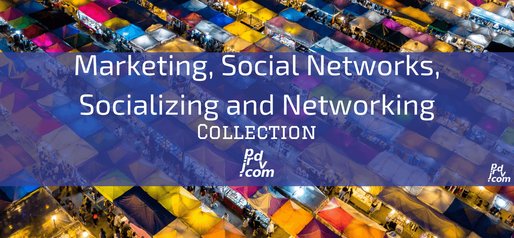 JBNPCOT0009 Marketing, Social Networks, Socializing and Networking Site Collection.png