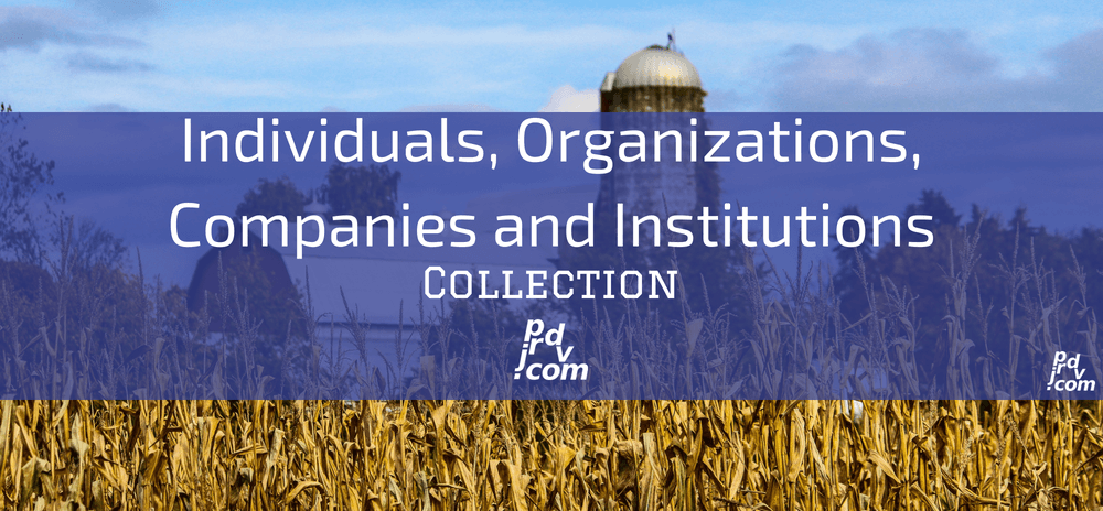 Individuals, Organizations, Companies and Institutions Site Collection