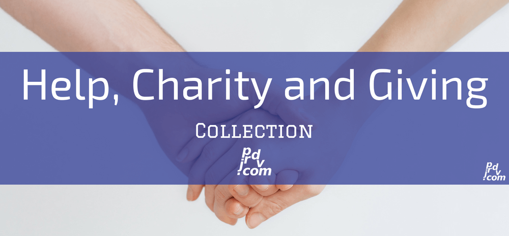 Help, Charity and Giving Site Collection