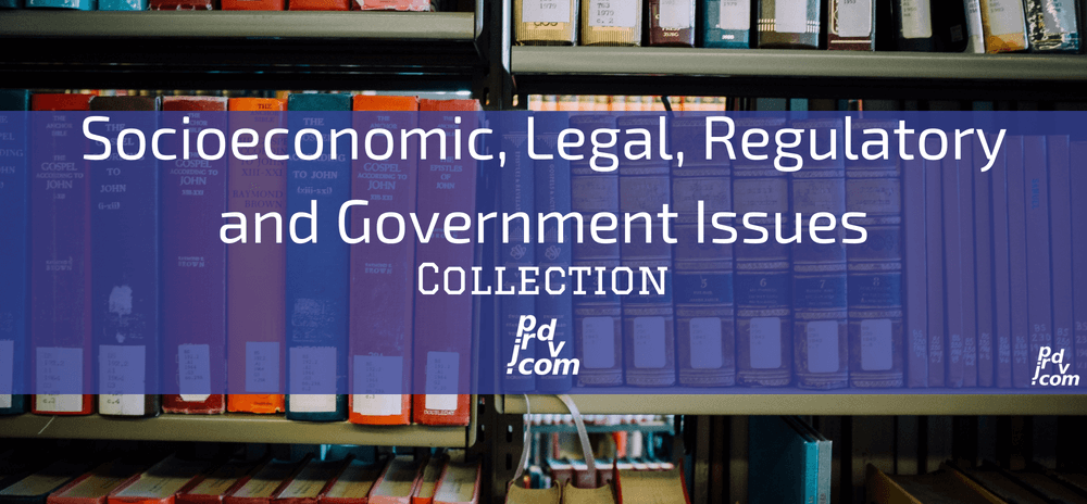 Socioeconomic, Legal, Regulatory and Government Issues Site Collection