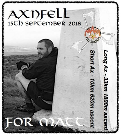 The race will be dedicated to Matt McSevney with all entry fees being donated to CruzeKids part of Cruse Bereavement Care IOM, a local charity that have helped and supported the family.