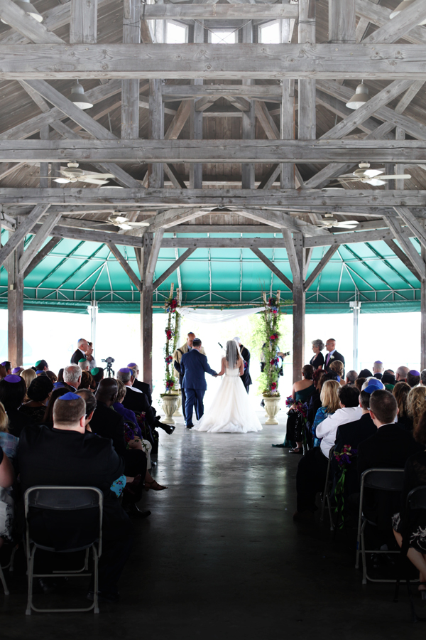 The ceremony was held in a pavilion right on the inner harbor in Baltimore. It was so peaceful and happy. Brightly colored sailboats glided by throughout the ceremony.