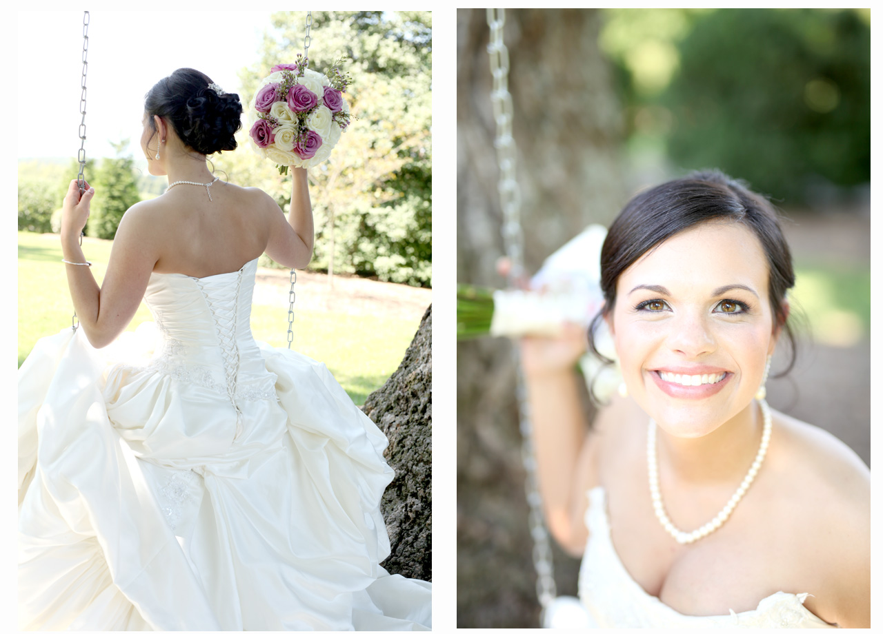 See what I said? Easy Peasy! She's a stunner!! And it wasn't hard to get her dress to fit her attractively either! ;)
