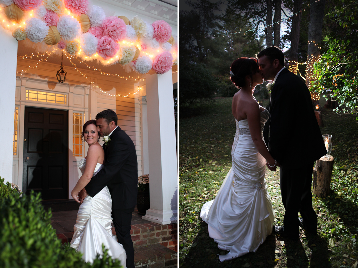 The decor and white lights throughout were just breathtaking!