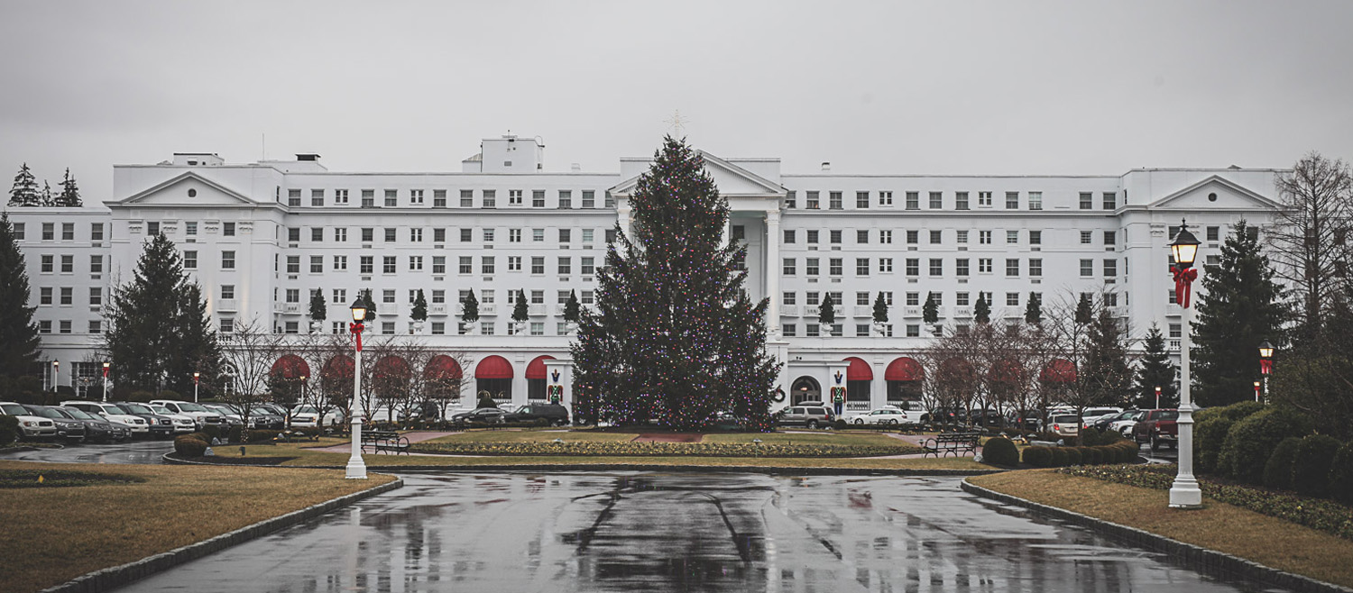 The Greenbrier was decked in her Holiday finery.