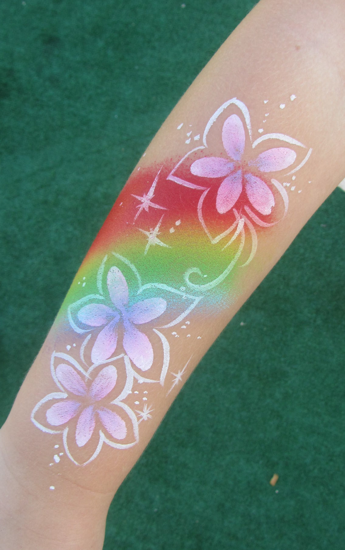 rainbow flower arm by Oliver.jpg