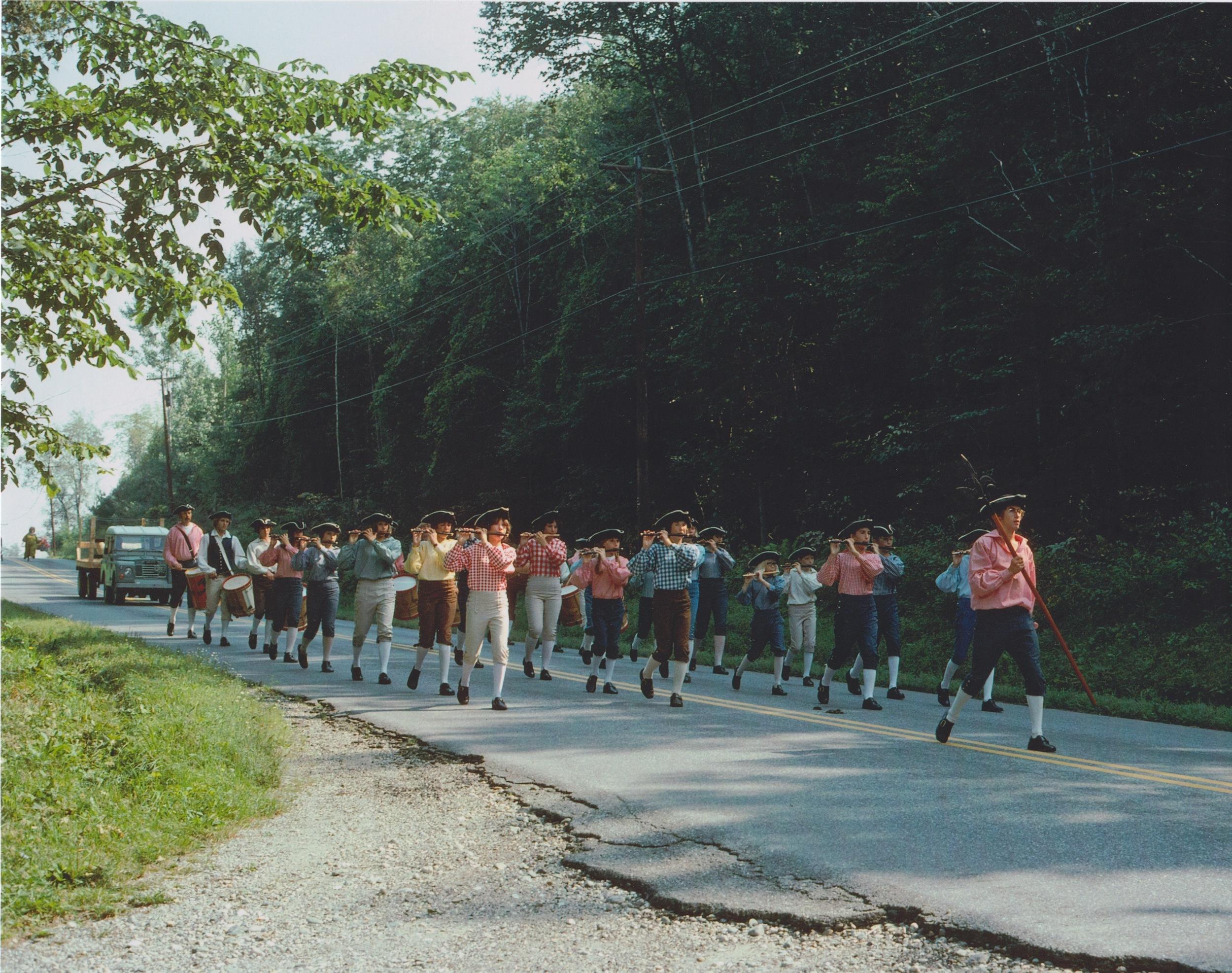 Parade in Monkton, VT - 1976