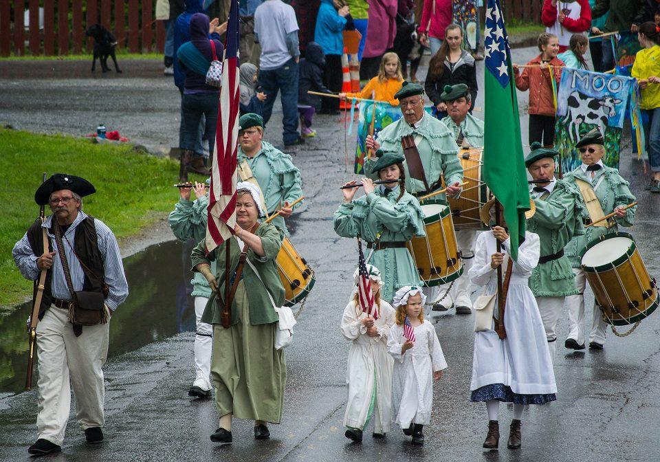 250th Anniversary Parade in Underhill, VT - June 2013