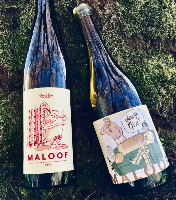 - Maloof's Riesling proves that you are a bunch of gems because you are reading this! Ross and Bee's