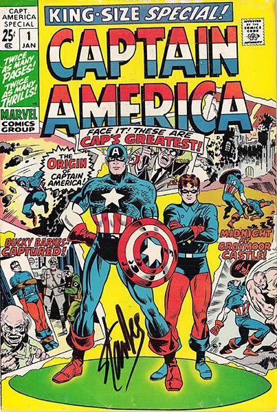 Captain America Special #1