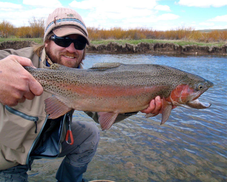 Jeremy, rainbow trout, Utah