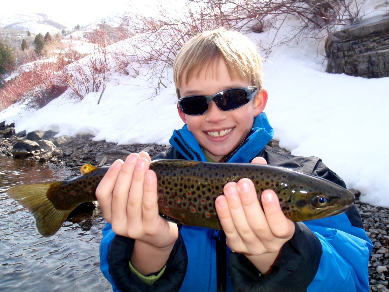 Fly Fishing on the Lower Provo in January