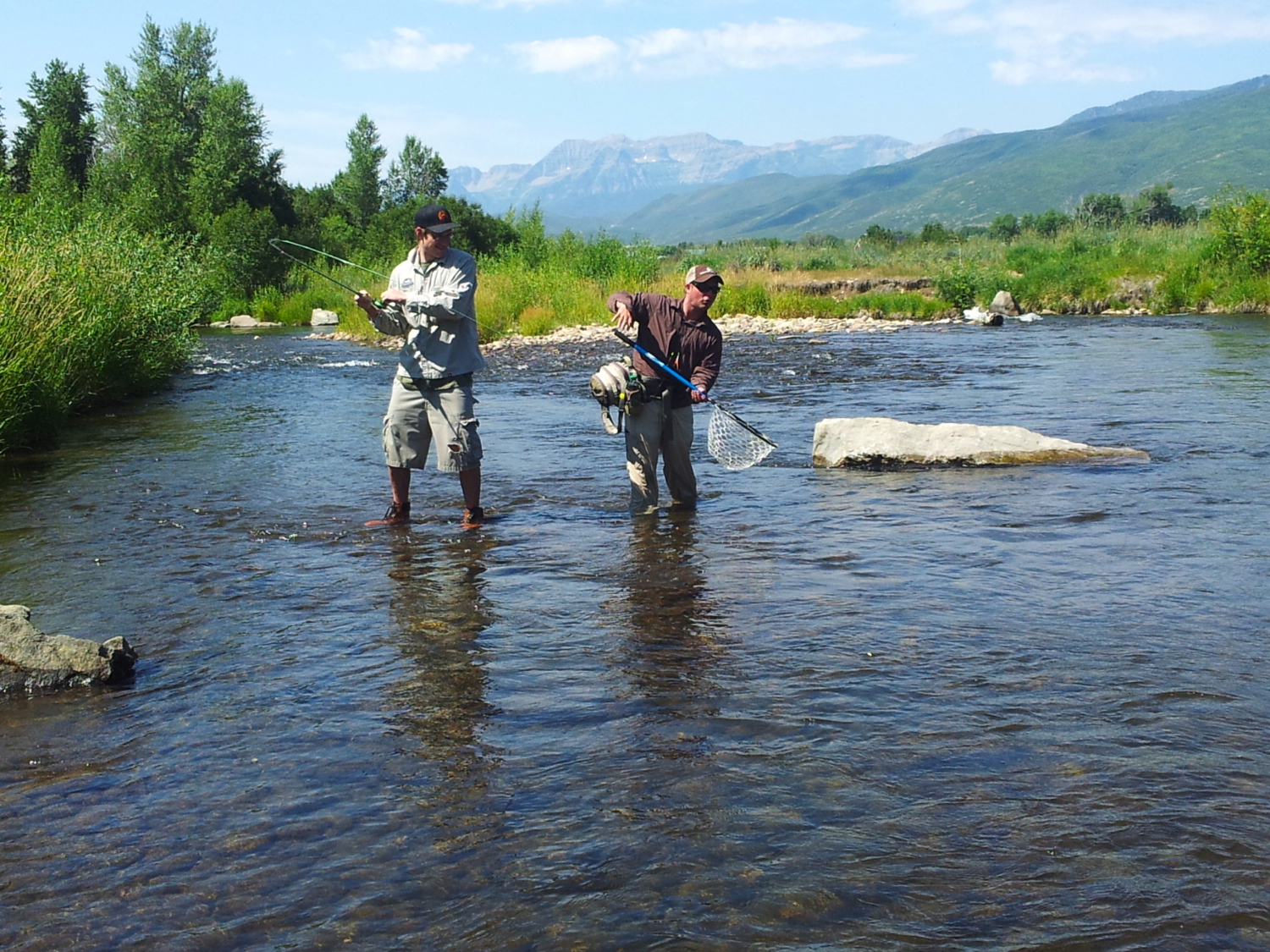 fly fishing in Utah