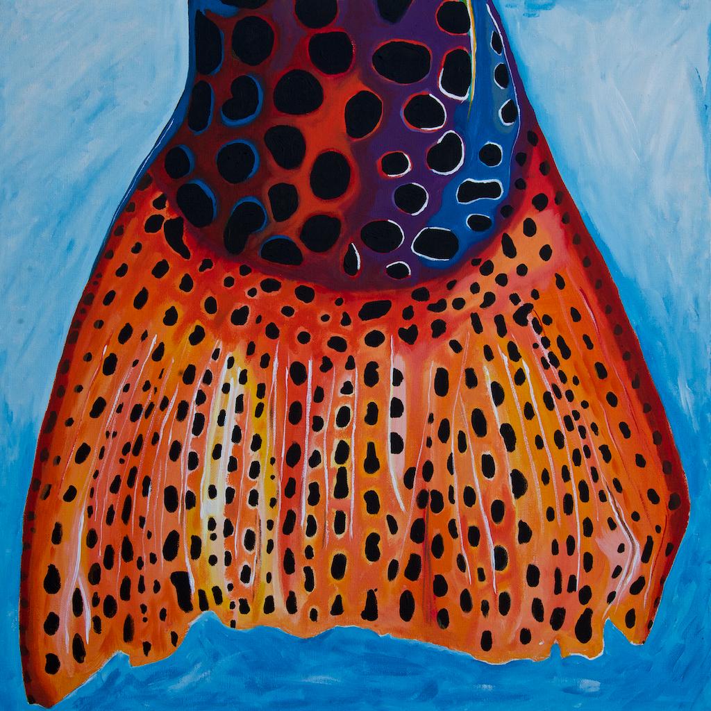 #1   acrylic on canvas or custom prints available