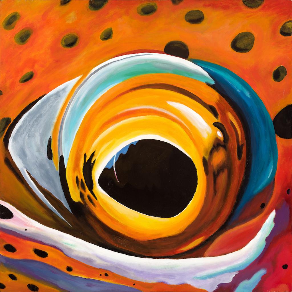 #5   acrylic on canvas or custom prints available